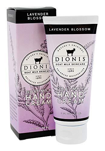 Dionis Goat Milk Skincare Hand Cream (Lavender Blossom, 2 oz)