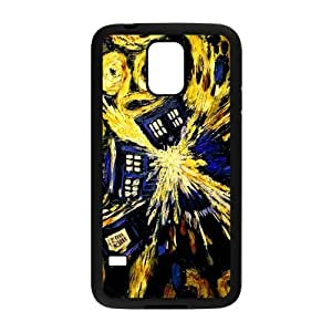 Stylish Popular Sci-Fi Shows Design Plastic Cover for Samsung Galaxy S5
