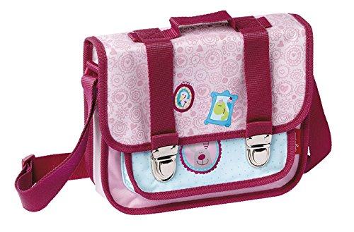 sigikid, Mädchen, Kindergartentasche Drei Freunde, Happy Friends, Rosa, 24001
