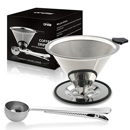 ONME Pour Over Coffee Maker Dirpper 18\\8 (304) ...