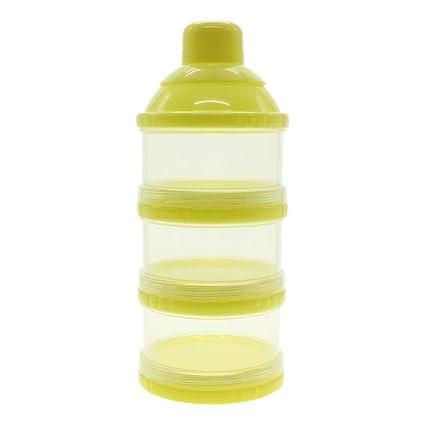 zhouba bebé bebé botella de leche en polvo dispensador de contenedor portátil caja de almacenamiento de