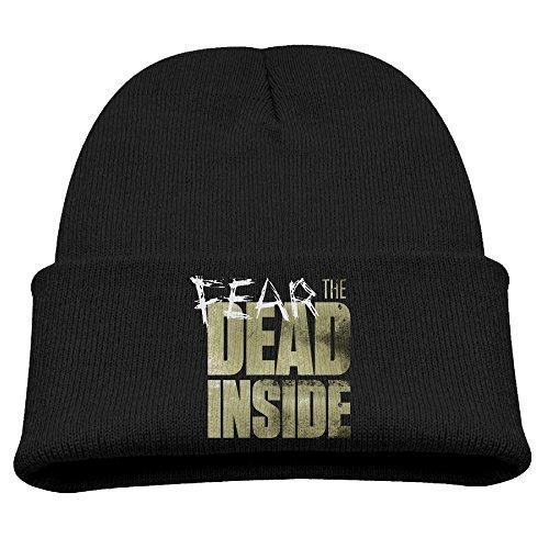 Fear The Walking Dead The Dead Inside ShowS Unisex Kids Beanie Hats Black (Rubens Unisex)