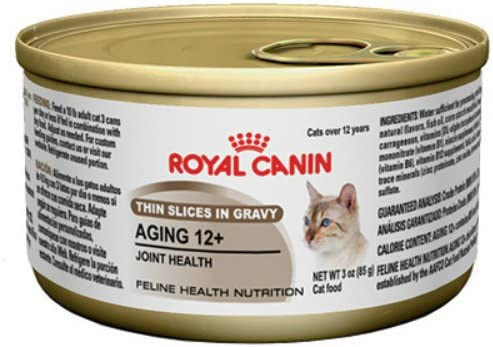 Royal Canin Feline Health Nutrition Aging 12 Joint Health Canned Cat Food