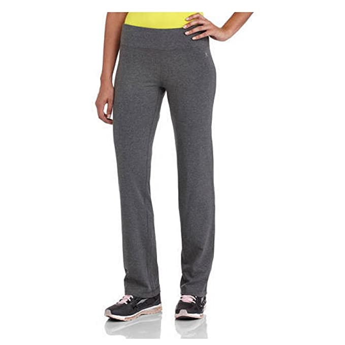a3ecfddc859 Amazon.com  Women s Dri More Straight Leg Pants Activewear (Small (4 ...