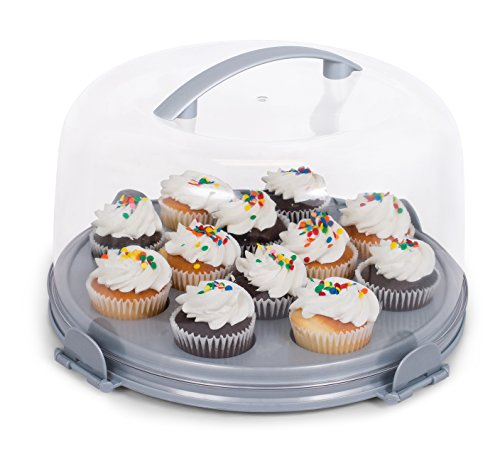 cake holder with lid - 9
