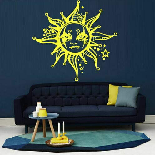 Tomikko Wall Decal Decor Art Vinyl Sun Whimsical Sky Star Beam Day M1271 | Model DCR - 710