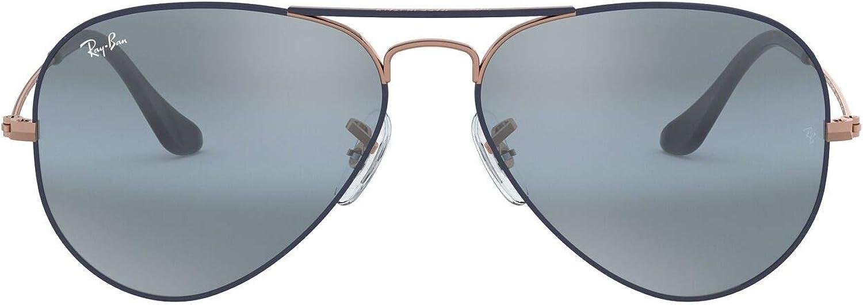 Ray-Ban Rb3025 Aviator Classic Mirrored Sunglasses