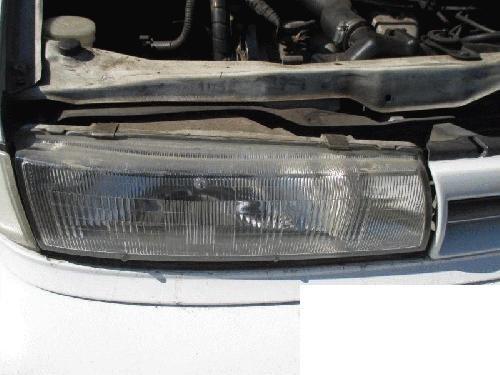 Genuine Nissan Parts B6010-65E00 Passenger Side Headlight Assembly Composite