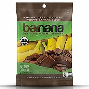 Barnana Organic Chewy Banana Bites, Chocolate, 1.4 Ounce, 12 Count