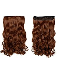 Amazon auburn hairpieces extensions wigs accessories s noilite 17 curly light auburn one piece 5 clips clip pmusecretfo Choice Image