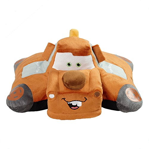 Idea Village Pillow Pets, Pee Wees, Disney/Pixar Cars 2 Movie, Mater, 11 Inches (Cars Stuffed Animals)