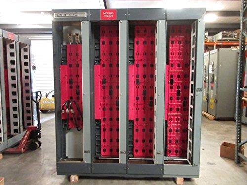 (Allen Bradley Centerline 800/300 Amp MCC Motor Control Center 8x 800A Sections)