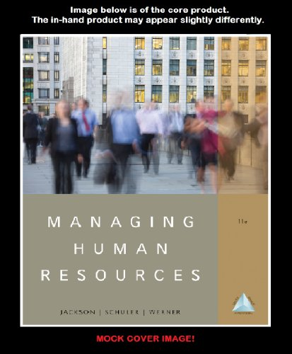Managing Human Resources by Cengage Learning