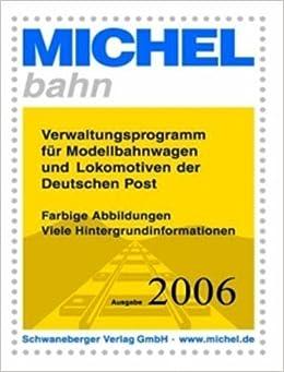 Book Michel-Katalog Modellwagen und Lokomotiven der Deutschen Post