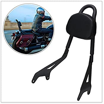 Automobiles & Motorcycles Covers & Ornamental Mouldings Cheap Sale Motorcycle Black Detachable Seat Rear Passenger Backrest Sissy Bar Arm Pad For Yamaha Star Xvs950 Bolt Xv950 2014-2017 2015 2016