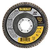 DEWALT DWA8283 40G T29 XP Ceramic Flap Disc, 5'' x 7/8''