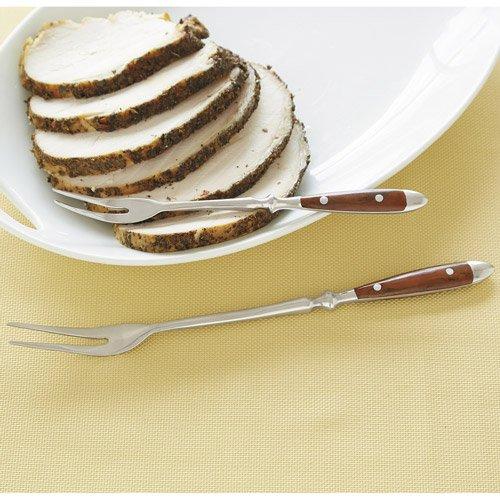 CHEFS Bistro Serving Fork Set, 2-piece: woodgrain by CHEFS