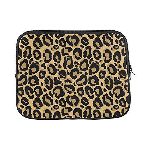 (Design Custom Leopard Fur Texture Repeating Sleeve Soft Laptop Case Bag Pouch Skin for Air 11
