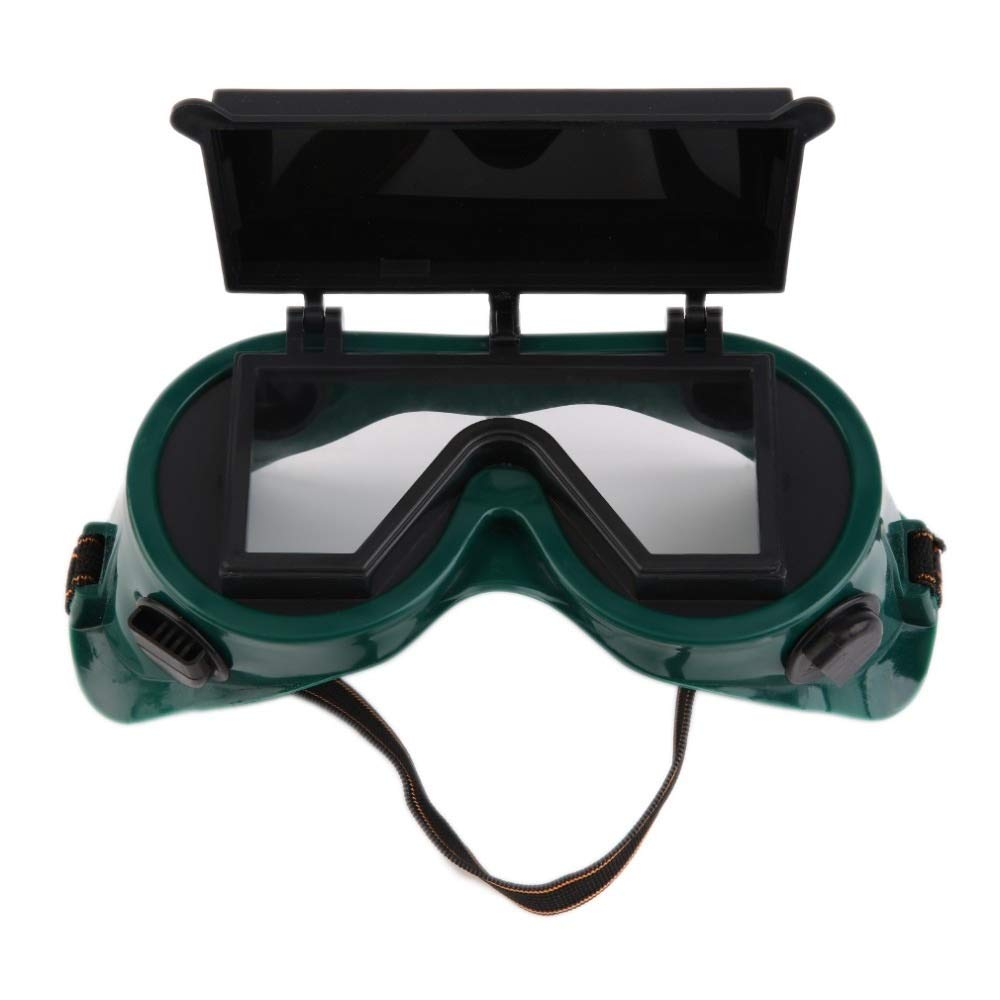 YUANYUAN521 Welding Goggles Cutting Grinding Welding with Flip Up Glasses Lenses Welder Labour Working Safety Protective Eyewear by YUANYUAN521