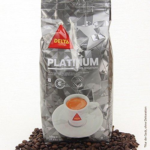 DELTA Café en granos - PLATINUM/PLATINA (café en granos) - 3 paquetes x 500 gramos: Amazon.es: Alimentación y bebidas