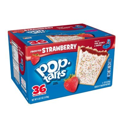 Kellogg's Pop-tarts® Frosted Strawberry - 36 ct.