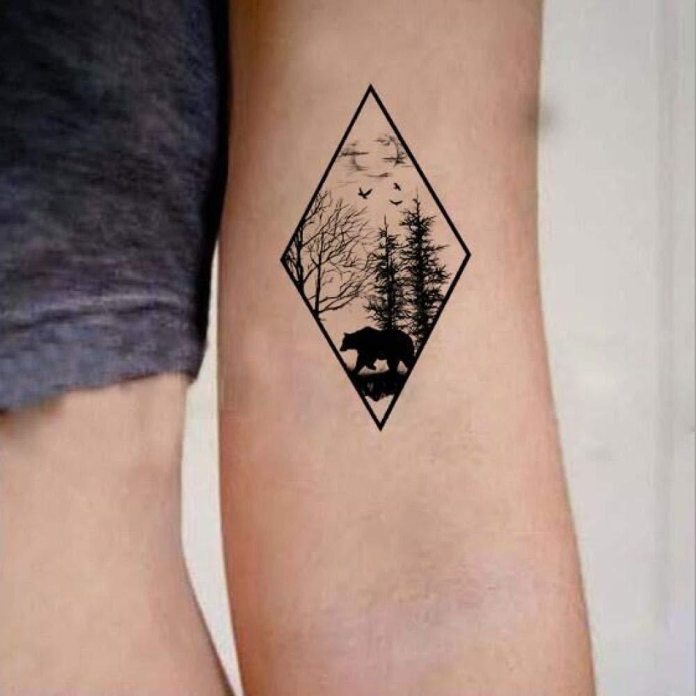 adgkitb 5piezas Tatuaje Pegatina Impermeable Temporal Falso ...