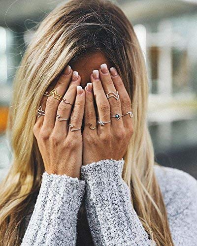 Pura Vida Rose Gold Coated Wave Ring - Gold Plated .925 Sterling Silver - Size 5 by Pura Vida (Image #2)