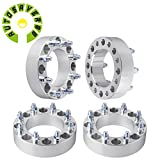 AUTOSAVER88 4 PCS 8X170mm Wheel Spacers 14x1.5 Studs 2 Inch 8 Lug Spacer Adapters For Ford F250 F350 Super Duty Excursion (125mm Hub Bore)
