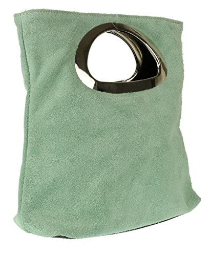 para verde mano Handbags menta mujer Girly de Cartera PqgnwI