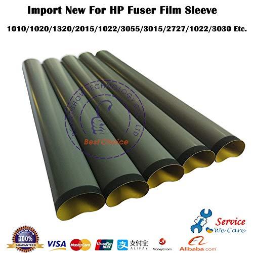 Film Fuser - Yoton 10X New Fuser Film Sleeve Teflon For HP 1010 2015 1320 3390 1020 1015 1018 M1005 3055 3052 1022 P2055 M401 M402 M427 M426 P1606 - (Color: 1000 1020 1015 1018)