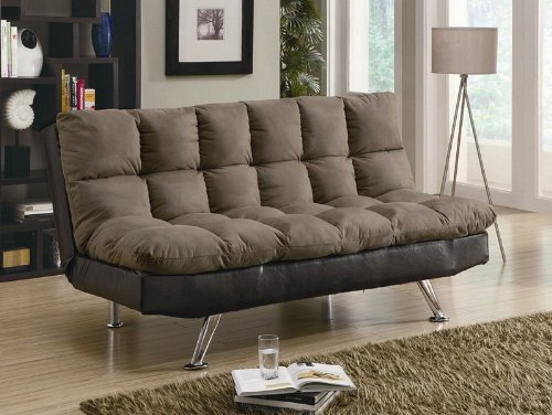 coaster-300306-plush-two-tone-microfiber-sofa-bed-by-coaster