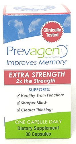 Prevagen Extra Strength, 30 Capsules Per Bottle (3 Bottles) by Prevagen