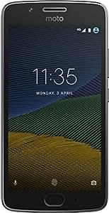 Motorola XT1671 Smartphone Moto G5 color Gris. Double SIM, Desbloqueado Nacional