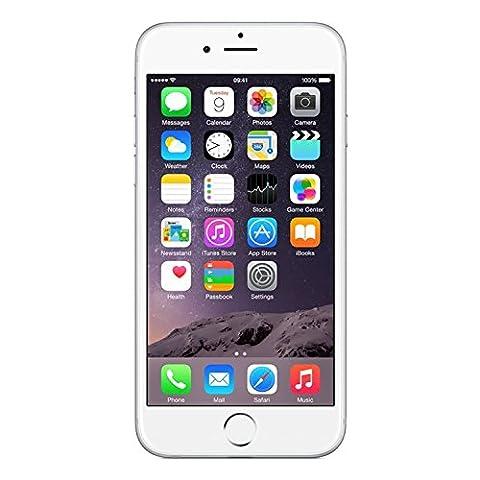 Apple iPhone 6 (GSM Unlocked), 128GB, Silver (Prepaid Iphones Boost Mobile)