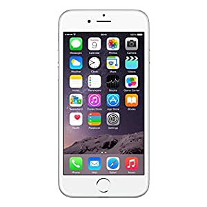 Apple iPhone 6 128GB Factory Unlocked 4G LTE Smartphone for GSM Carriers - Silver (Certified Refurbished, Good Condition)