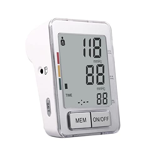 YIQ TensióMetro De Brazo, Instrumentos De MedicióN De LCD De Voz Inteligente De Hogar PrecisióN