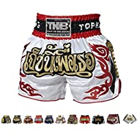 KINGTOP Top King Boxing Muay Thai Shorts Normal or Retro Style Size S, M, L, XL, 3L, 4L