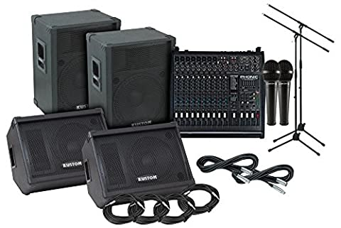 Kustom PA KPC15 Phonic 1860 PA/Monitor Package - Pa System Package