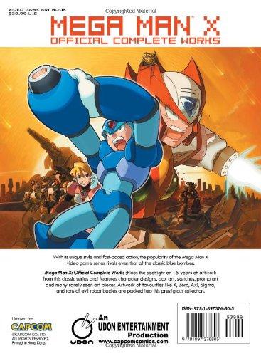 Image of Mega Man X: Official Complete Works