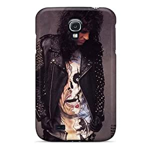Durable Hard Phone Case For Samsung Galaxy S4 (bJA6453yyeQ) Support Personal Customs High-definition Alice Cooper Band Series