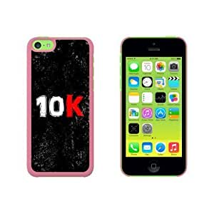 10k Running Snap On Hard Protective For HTC One M7 Phone Case Cover - Pink