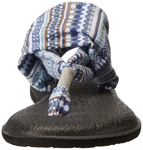 Women's Lanai Yoga Lead Prints Grey Sanuk Blanket 2 Sling 46TBwndq