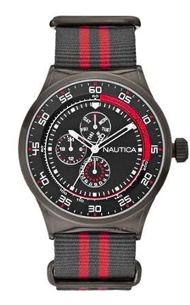 Nautica NST 17 Herren-Armbanduhr A16575G Chronograph Quarz