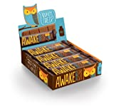 Awake Caffeinated Chocolate Energy Bar, Milk Chocolate, 12 Count