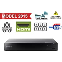 Sony BDP-S3500 Region Free DVD and Zone ABC Blu Ray Player with 100-240 Volt, 50/60 Hz, Free 6 HDMI Cable and US- European Adapter