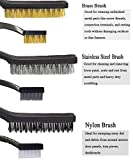 Sayago Wire Brush for Rust Removal Small Wire Brush