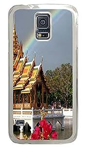 on sale Samsung Galaxy S5 case Tourism In Bangkok PC Transparent Custom Samsung Galaxy S5 Case Cover