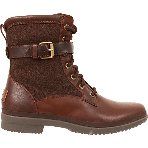 UGG Women's Kesey Motorcycle Boot, Chestnut, 9 B US