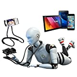 Lazy neck phone holder Cell Phone Holder Tablet Holder iPad PC Flexible Stand Universal Mobile Phone Stand Lazy Bracket car phone holder DIY Free Rotating Gooseneck Mounts with Multiple Function