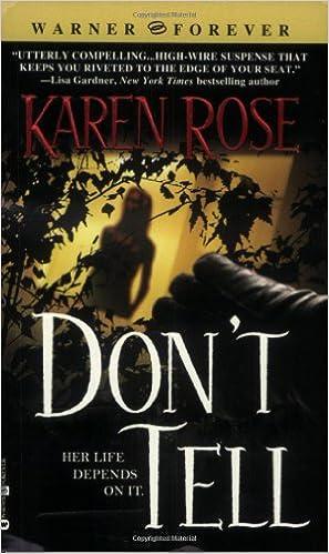Karen Rose - Don't Tell Audiobook